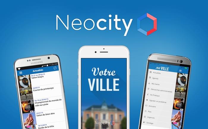 Neocity, l'appli des petites communes