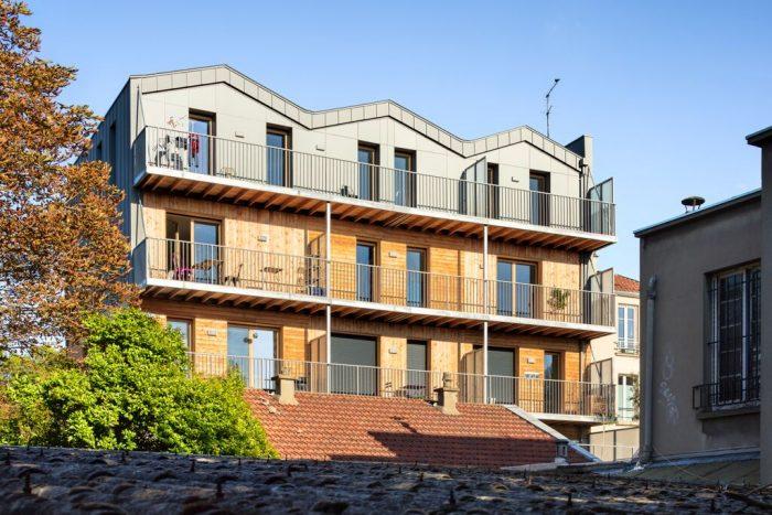 REI : le pari des immeubles en bois