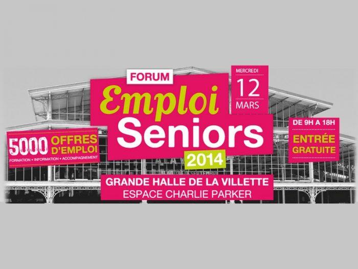 Mercredi 12 mars : 5000 offres d'emploi au Forum Emploi Seniors