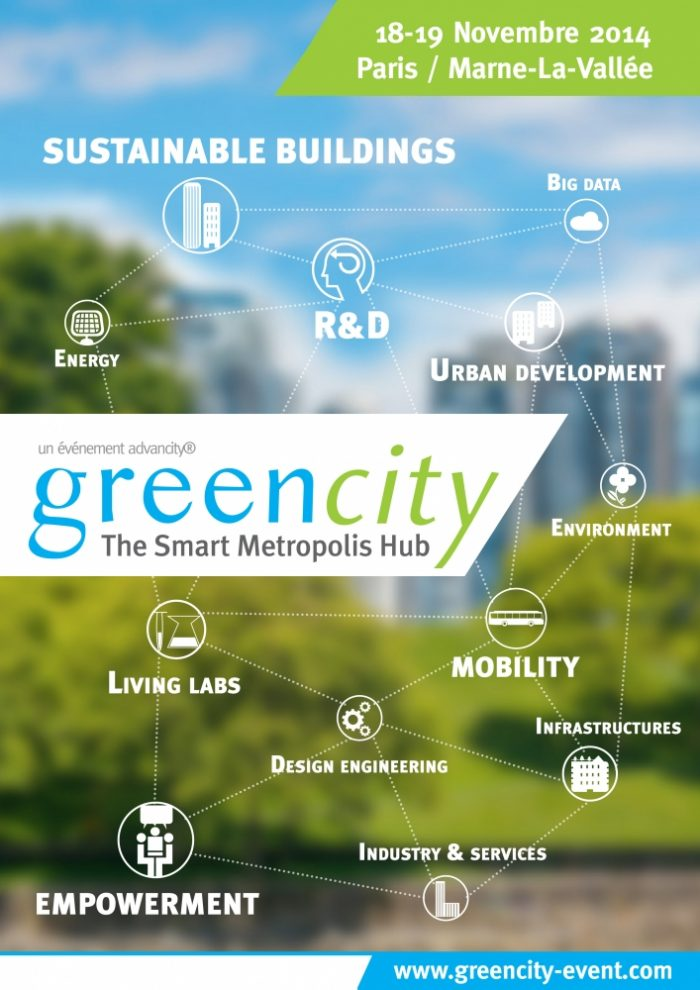 Greencity 2014, The Smart Metropolis Hub® : réalisons ensemble la ville de demain !