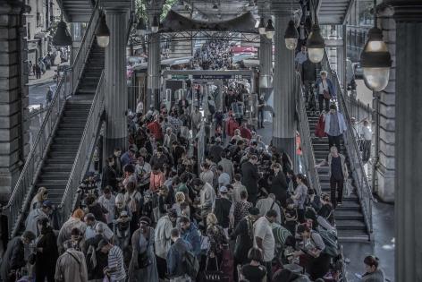 #EXPO Metropolis à l'IAU Île-de-France: le Grand Paris vu du métro