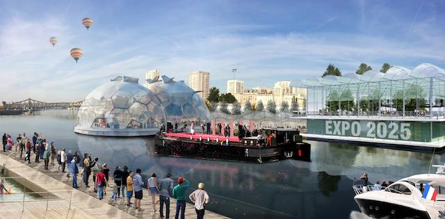 Le Val-de-Marne veut faire flotter l'Expo universelle 2025 sur l'eau