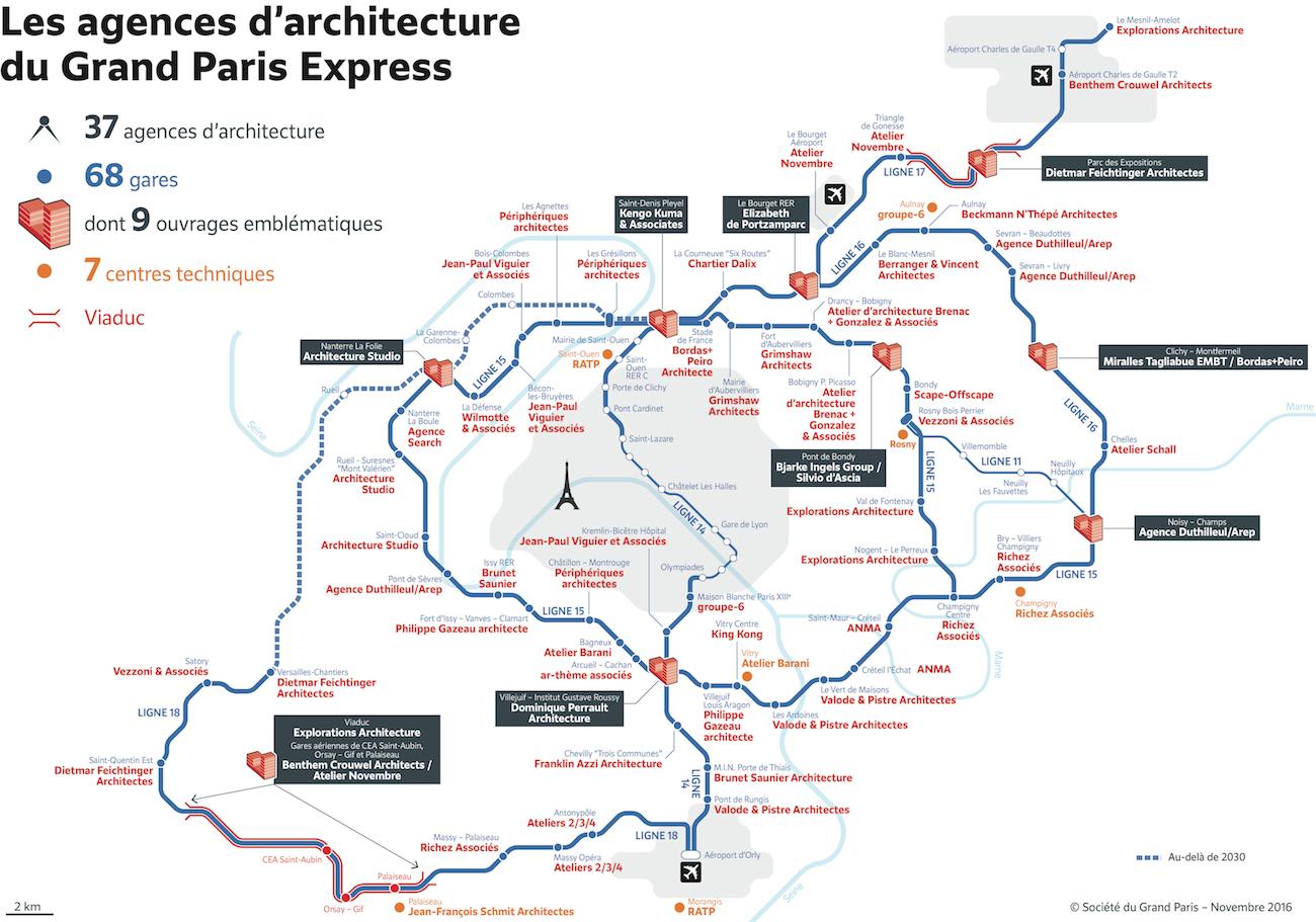 Les architectes présentent les nouvelles gares
