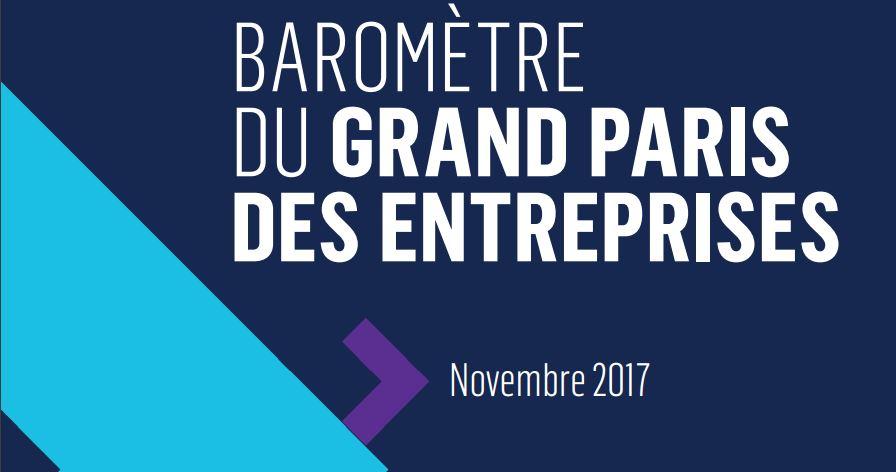 5° édition du Baromètre du Grand Paris des entreprises
