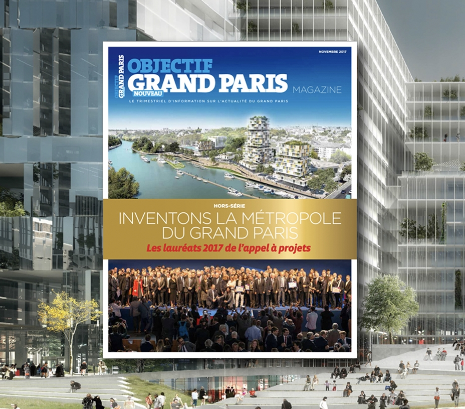 Inventons la métropole du Grand Paris : les lauréats 2017 de l'appel à projets