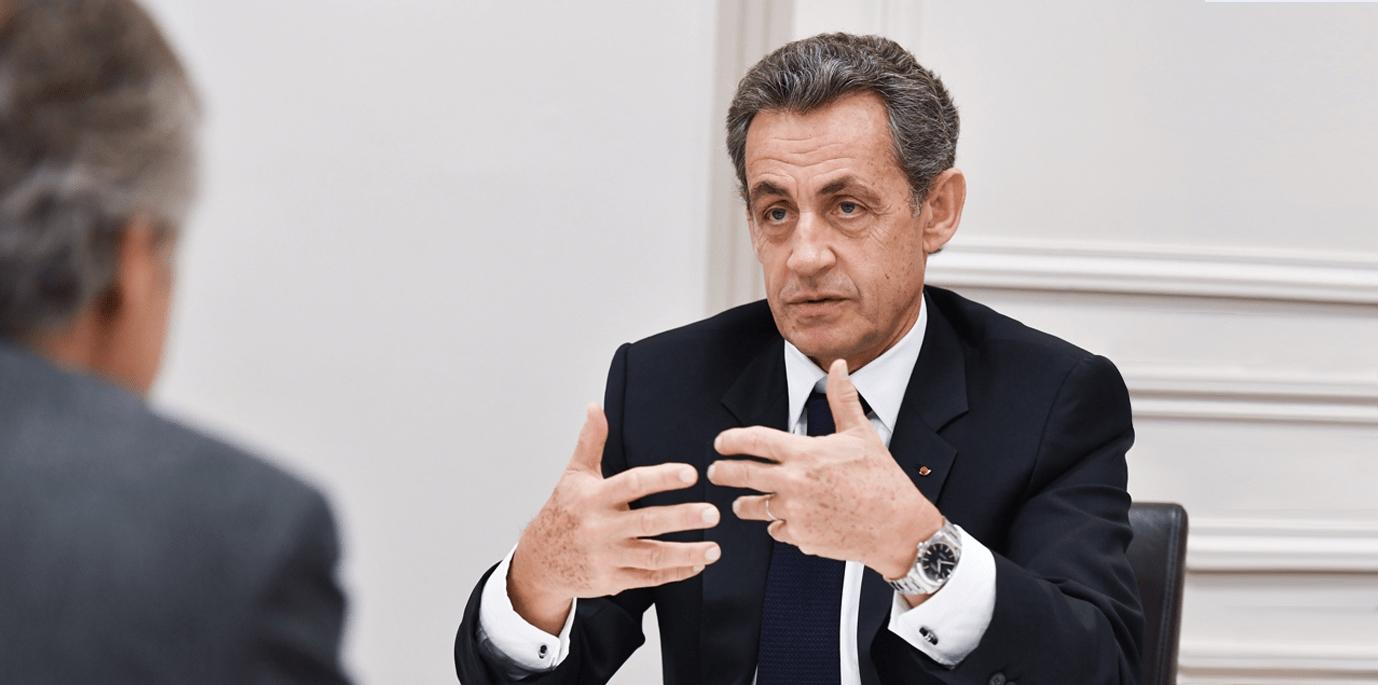Rencontre avec Nicolas Sarkozy