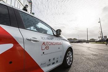 Rouen Normandy Autonomous Lab sur la route du CES Las Vegas 2018