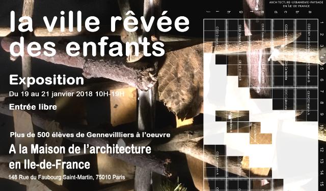 """19-21/01  """"La ville rêvée des enfants"""""""
