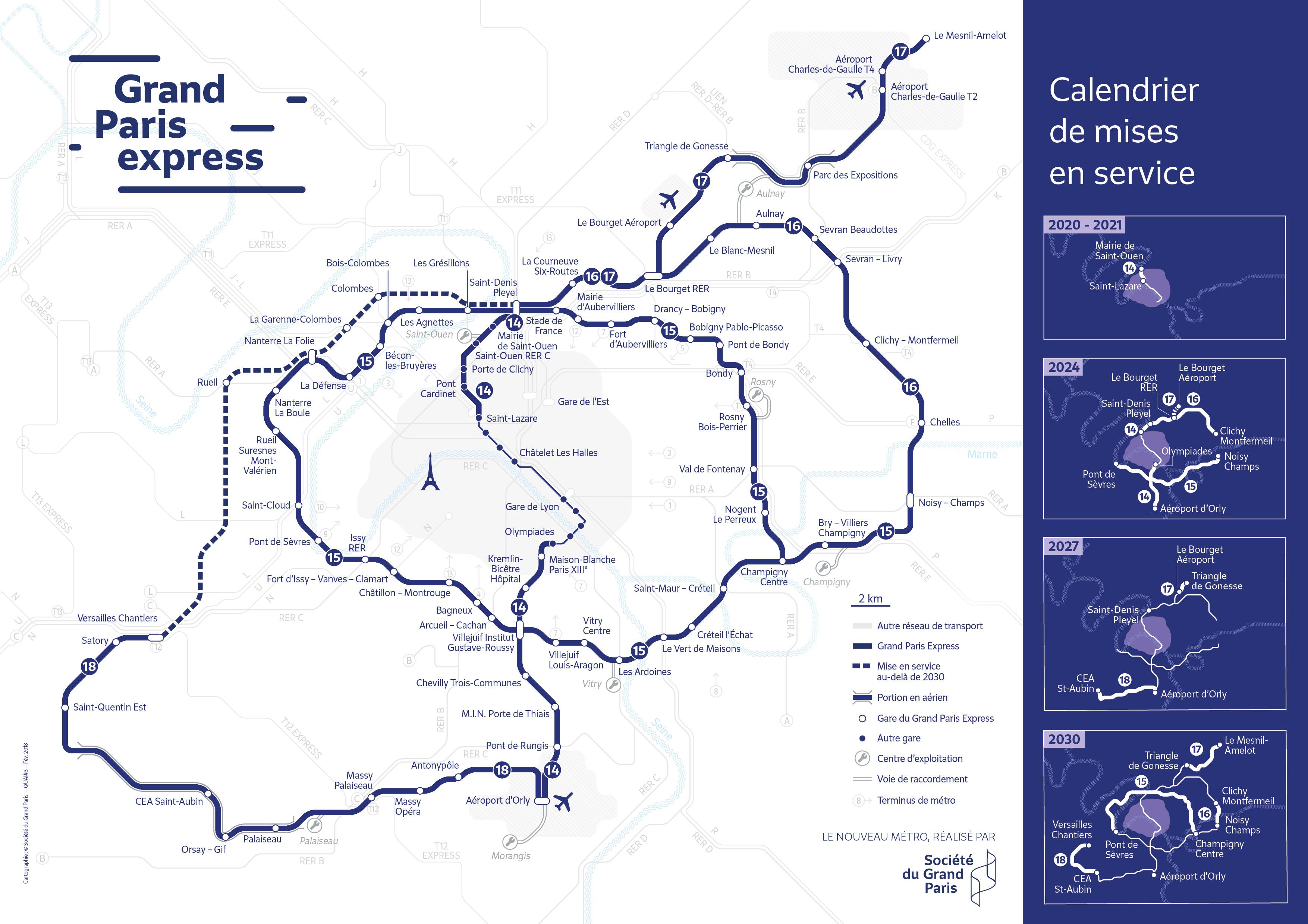 2024 : Où en sera le nouveau métro ?