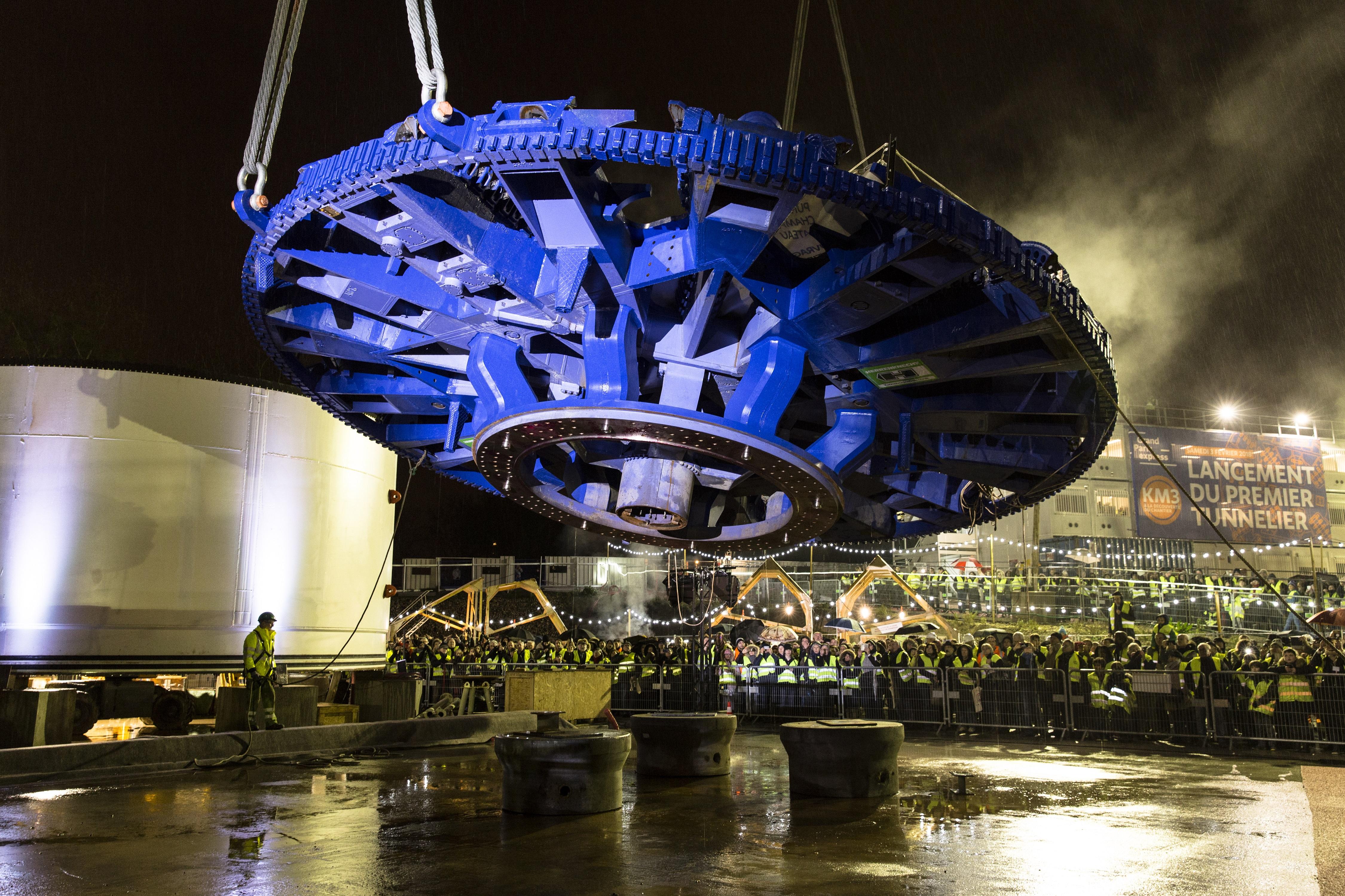 VINCI Construction et Spie batignolles remporte un nouveau contrat dans le cadre du futur Grand Paris Express