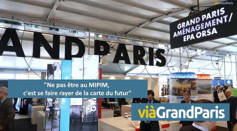 «Ne pas être au MIPIM, c'est se faire rayer de la carte du futur»