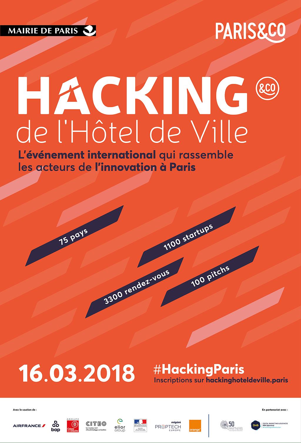 16/03 | 4ème édition du « Hacking de l'Hôtel de Ville »