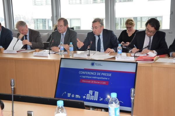 La MGP présente les actions de son projet de Pacte pour une logistique métropolitaine
