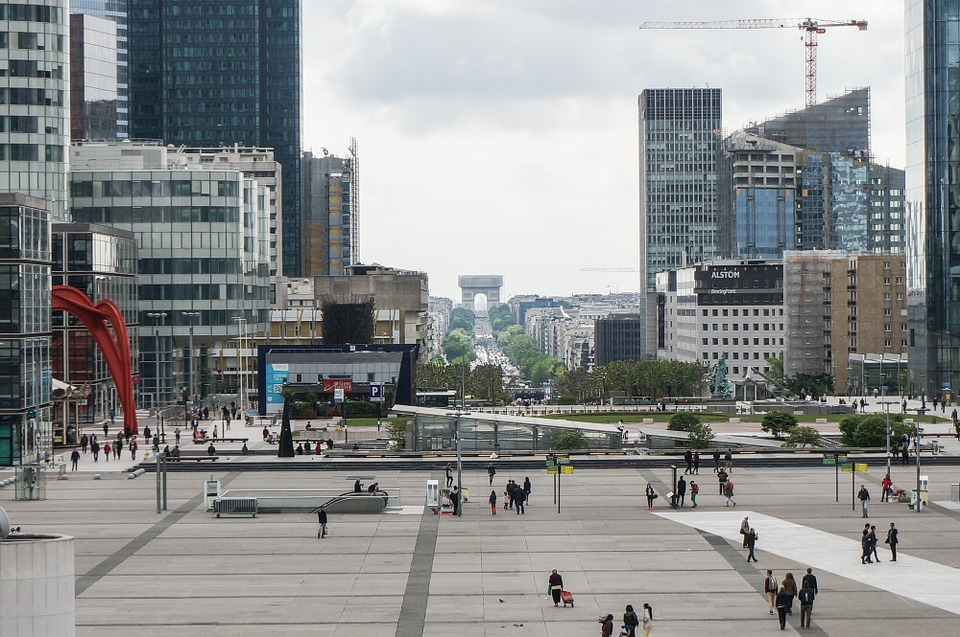 """Bienvenue à Paris La Défense !"""