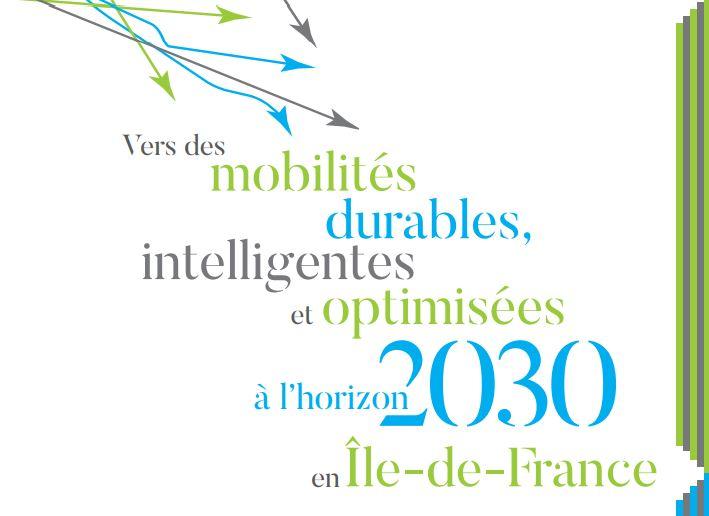 Restitution du Livre blanc «Vers des mobilités durables, intelligentes et optimisées à l'horizon 2030 en Île-de-France»