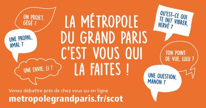 La Métropole du Grand Paris lance le SCoT
