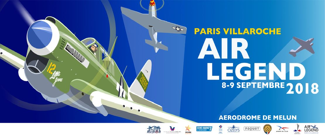 Paris-Villaroche Air Legend : grand meeting aérien à Melun