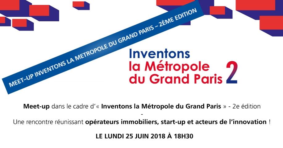 Rendez-vous au 1er meet-up de l'appel à projets «Inventons la Métropole du Grand Paris»
