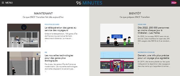 Nouveau format, nouveaux contenus : le webzine 96 minutes se refait une peau neuve