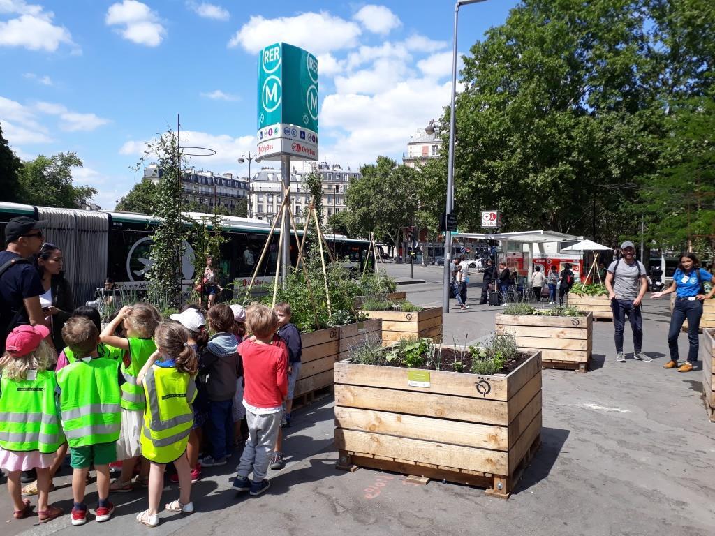La gare de Denfert-Rochereau devient un modèle de biodiversité urbaine