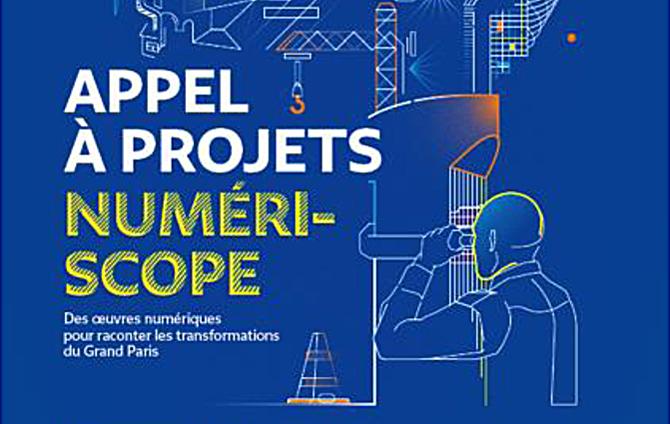 La Société du Grand Paris lance Numéri-Scope, un appel à projets pour la production d'œuvres numériques dans les quartiers de gares