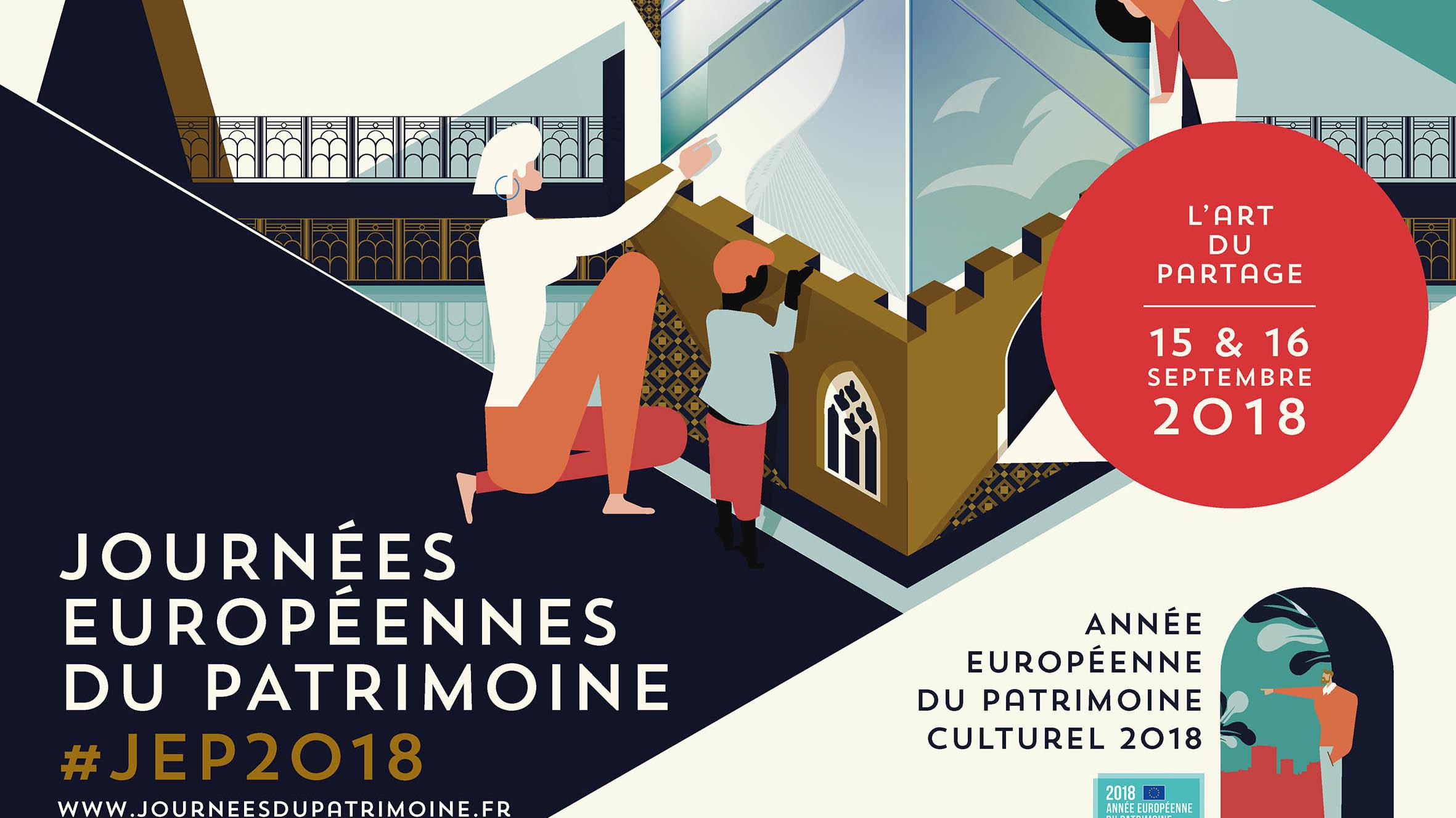 Les Journées du Patrimoine 2018 ou l'art du partage