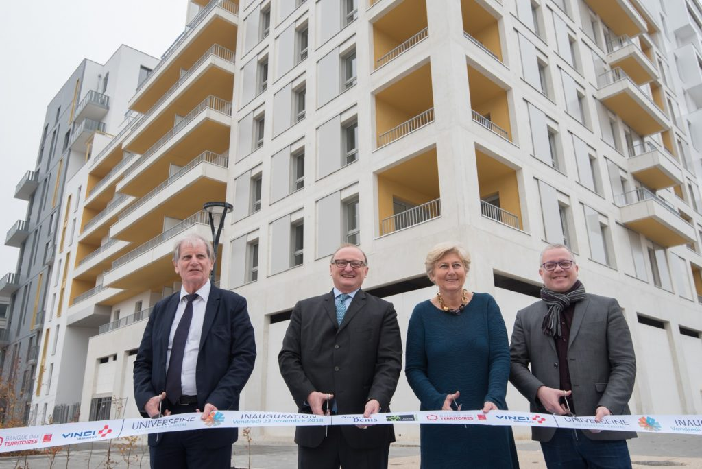 L'écoquartier Universeine à Saint-Denis livre ses premiers logements