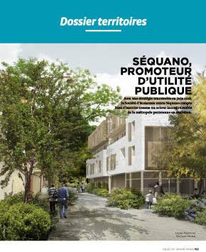 Séquano, Promoteur d'utilité publique