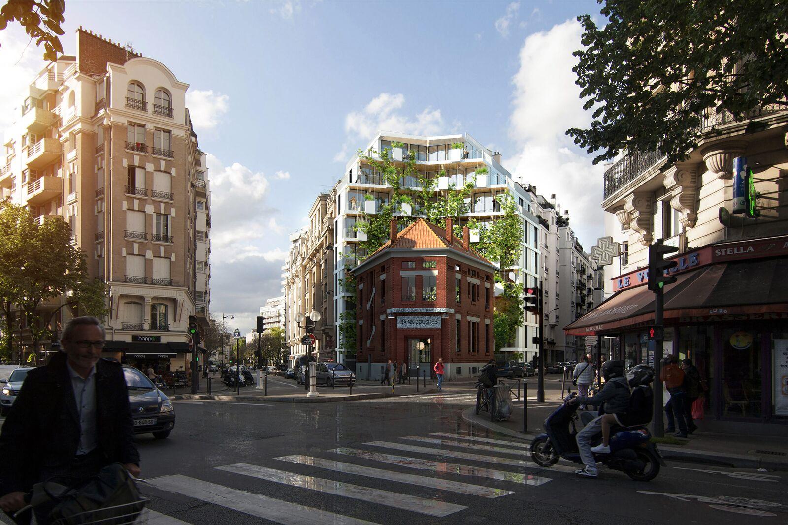 Réinventer Paris : le projet des bains douches livrable en septembre 2019