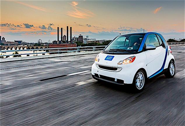Car2go lance 400 voitures électriques en autopartage dans Paris