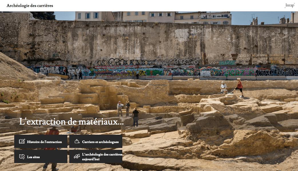 Un atlas numérique sur l'archéologie des carrières