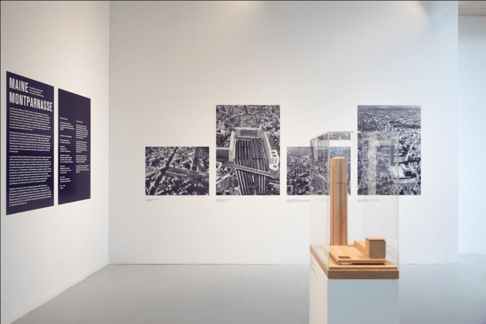 Le projet de transformation de Montparnasse exposé au Pavillon de l'Arsenal