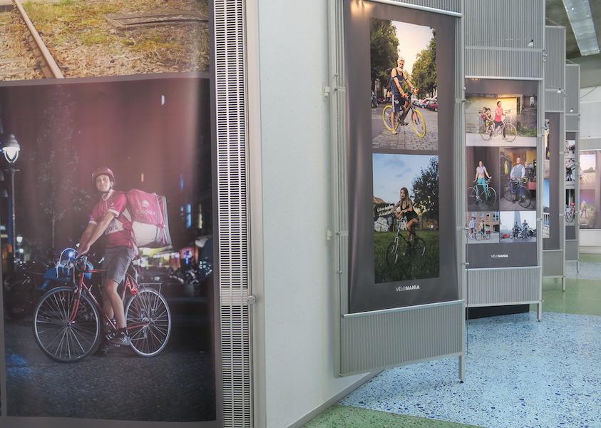Vélomania : une expo-photo à l'IAU