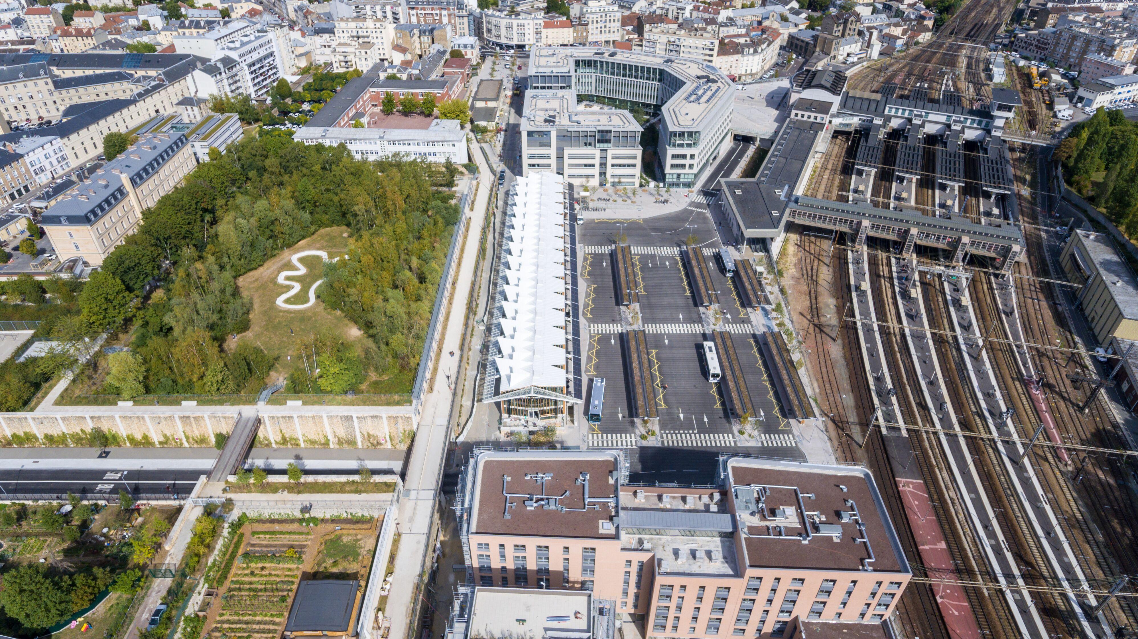 Versailles-Chantiers : un quartier contemporain dans une ville historique
