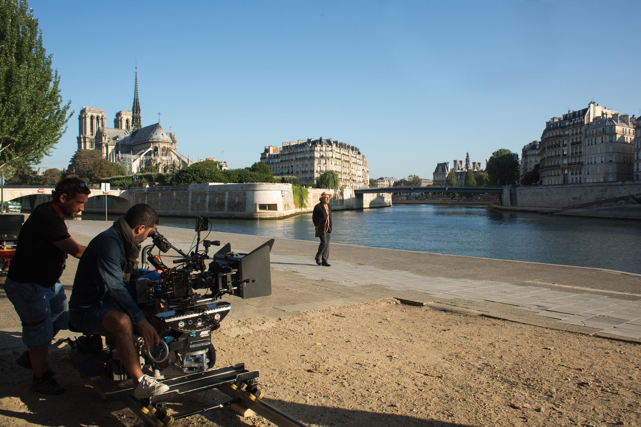 Île-de-France : Les tournages en forte croissance