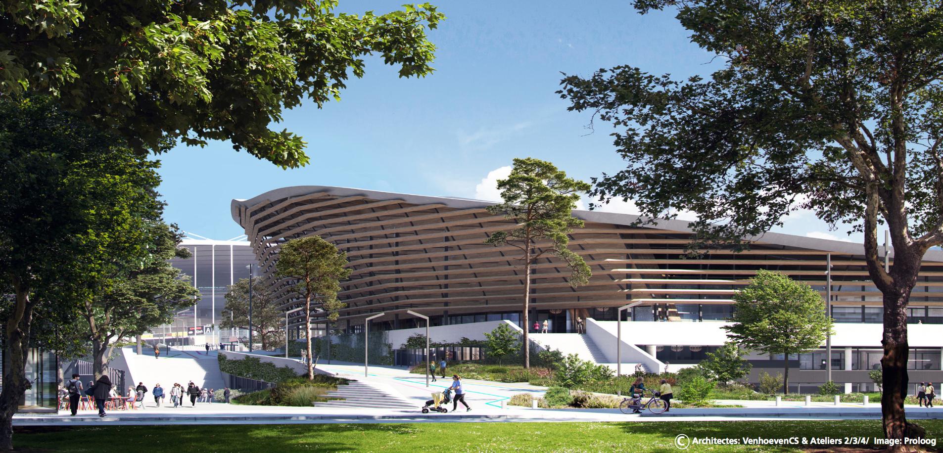 Le Centre aquatique olympique se révèle