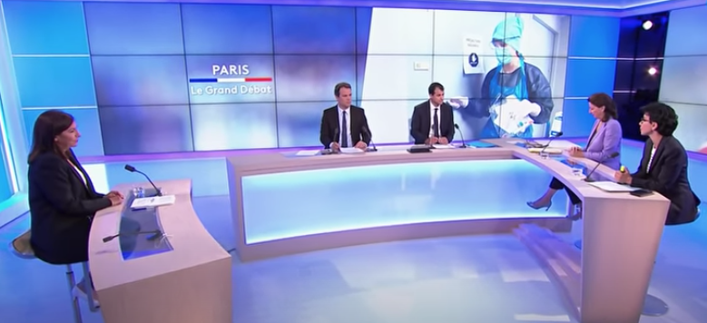 Débat des municipalesà Paris : les candidates unanimes pour soutenir les commerçants