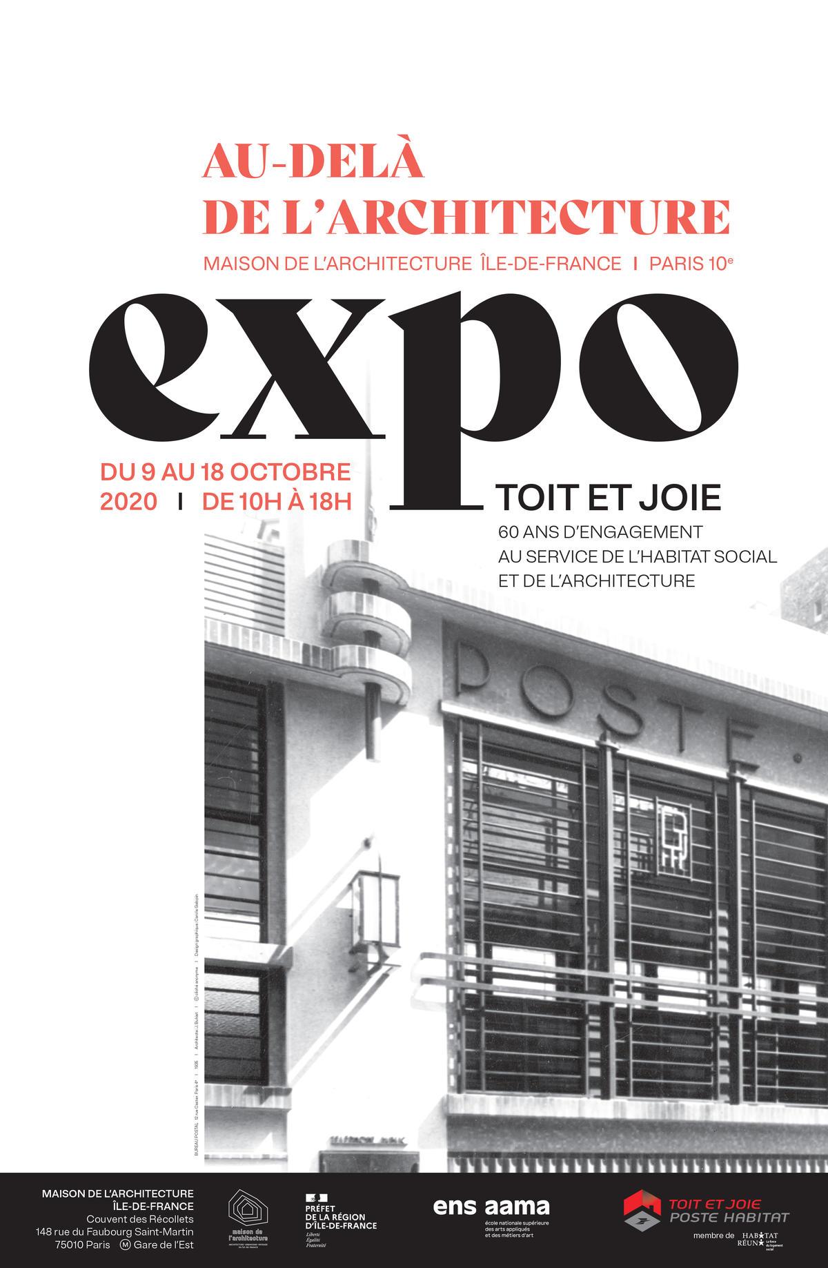 L'histoire du bailleur social Toit et Joie s'expose à la Maison de l'Architecture