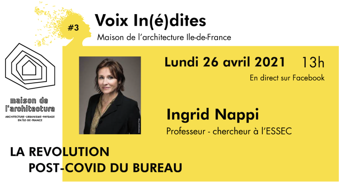 Ingrid Nappi : « La révolution post-covid du bureau »