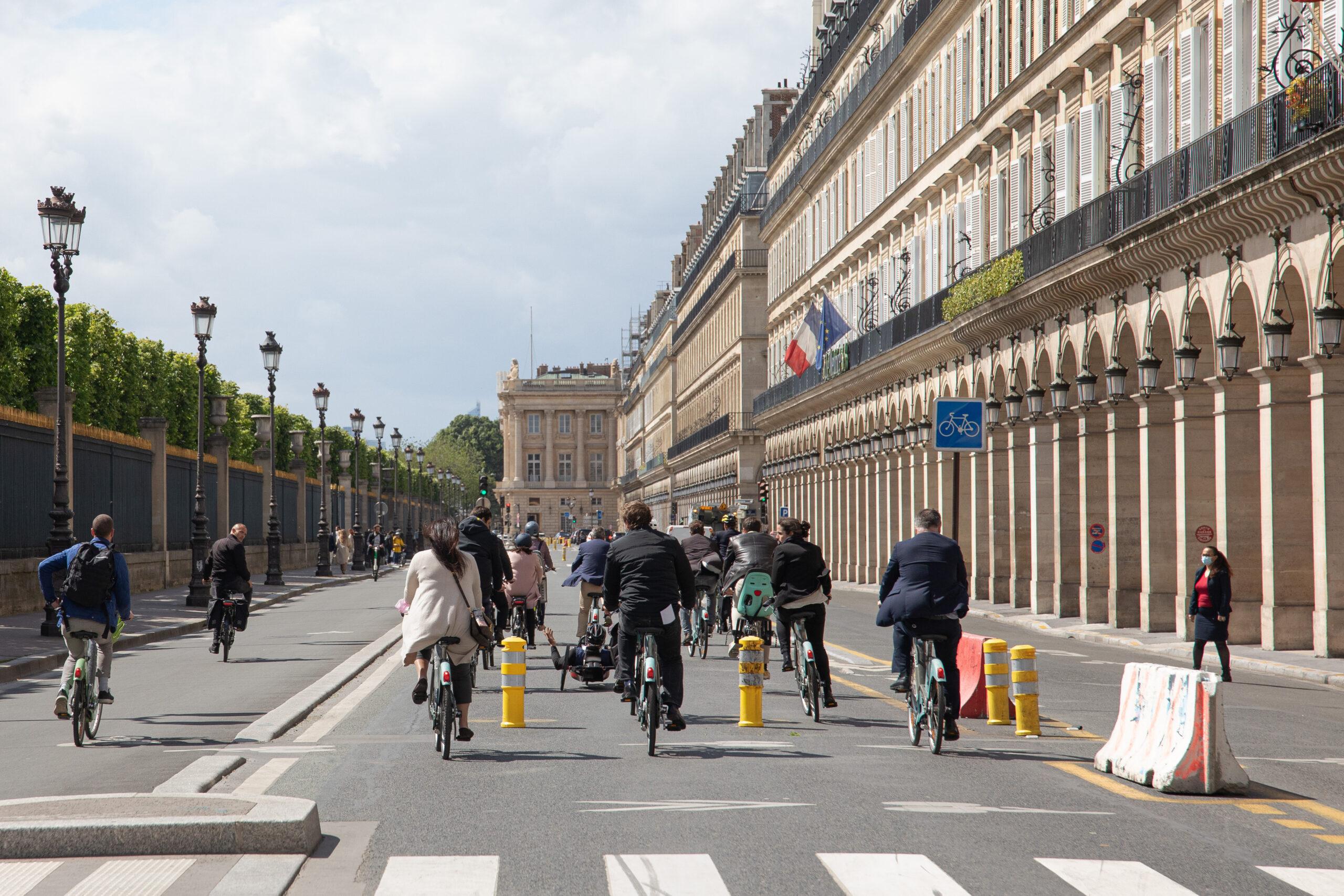 Paris : 250 millions d'euros pour une capitale 100% cyclable